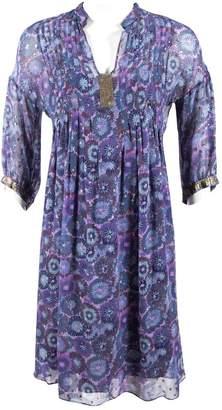 Rebecca Taylor Purple Silk Dresses