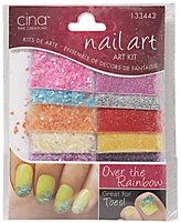 Cina Nail Creations Art Jewelry Decals Ice Sparkles Rhinestones