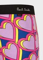 Paul Smith Men's Multi-Colour 'Heart' Print Low-Rise Boxer Briefs