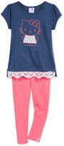 Hello Kitty 2-Pc. Tunic & Leggings Set, Toddler & Little Girls (2T-6X)