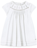 Tartine et Chocolat White Cotton Dress