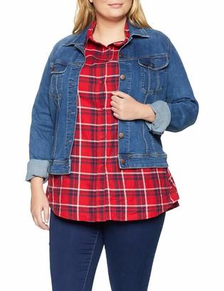 Lee Women's Slim Rider Plus Size Denim Jacket