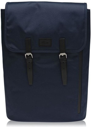 Lacoste Buckle Backpack Mens