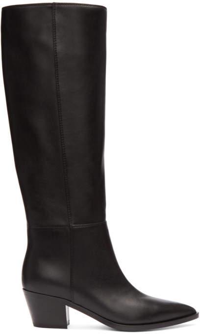 Gianvito Rossi Black Daenerys Knee-High Boots