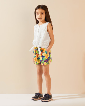 Jigsaw Citrus Soft Tie Shorts
