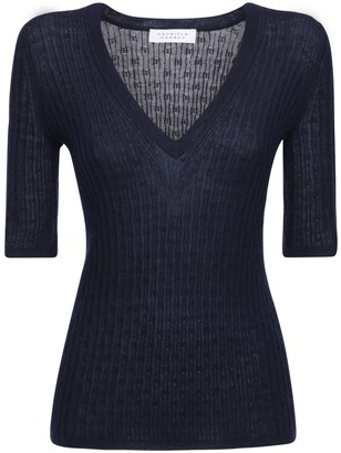 Gabriela Hearst Cashmere & Silk Knit Top