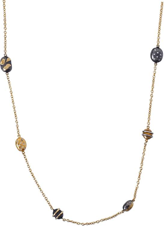 Yossi Harari Helen Mini Wrap Necklace