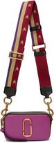 Marc Jacobs Purple Stripes & Stars Snapshot Bag