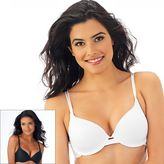 Lily of France Bras: Value 2-pk. Contour Bra 2179760 - Women's