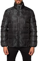 Jared Lang Geneva Camo Down Puffer Jacket