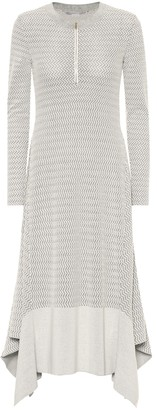 Stella McCartney Wool-blend knit dress