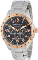 Nautica Men's Bfd 101 N16100G Stainless-Steel Quartz Watch