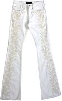 Isabel Marant White Cotton - elasthane Jeans