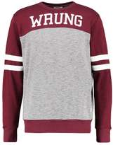 Wrung TEAM Sweatshirt burgundy