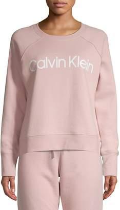 Calvin Klein Logo Crew Neck Sweatshirt