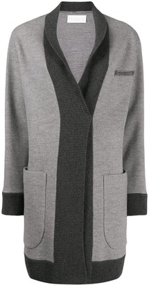 Fabiana Filippi fitted knit coat