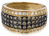 Le Vian 14K Gold Two-Tone Diamond Encrusted Ring