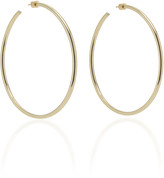 Jennifer Fisher Classic 14K Gold-Plated Hoop Earrings