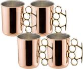 Old Dutch Knuckle Moscow Mule Mugs (Set of 4)