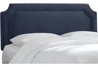 Skyline Furniture Gresham Upholstered Panel Headboard Size: Full, Color: Eclipse