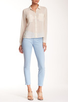 Mother The Muse Ankle Straight Leg Jean