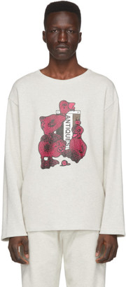 Rochambeau Grey Thermal Long Sleeve T-Shirt
