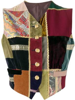 Dolce & Gabbana Pre-Owned 1990s patchwork gilet