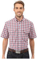 Cinch Athletic Plaid Double Pocket