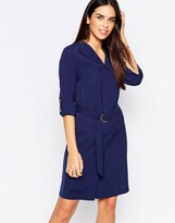 Warehouse Belted Shirt Dress