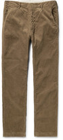 Engineered Garments Cotton-corduroy Trousers - Brown
