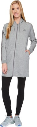 Puma Women's Winterized Archize Logo Full Zip Hoodie