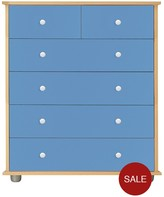 Kidspace Miami 4 + 2 Chest Of Drawers
