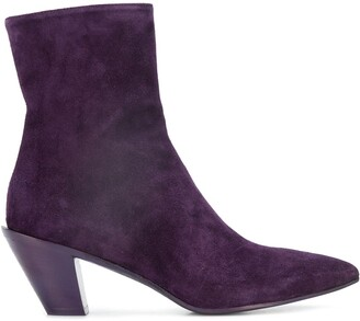 A.F.Vandevorst Pointed Toe Boots