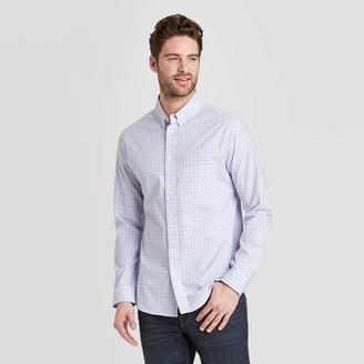 Men's Slim Fit Long Sleeve Northrop Poplin Button-Down Shirt - Goodfellow & CoTM