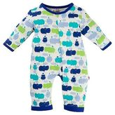 E=MC2 Easy Magnetic Close E=MC2 Baby Union Bodysuit - Blue