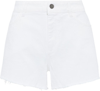 DL1961 Karlie Frayed Denim Shorts