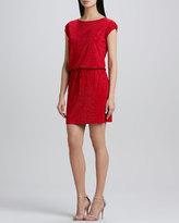 Grayse Diamond Drawstring Dress