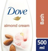 Dove Purely Pampering Almond Caring Cream Bath 500ml