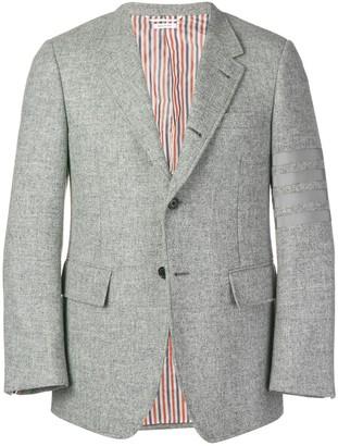 Thom Browne 4-bar Wide Lapel Shetland Sport Coat