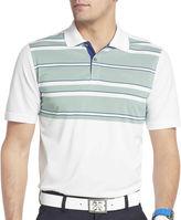 Izod Golf Pieced English-Stripe Polo