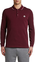 Moncler Men's Long-Sleeve Polo Shirt