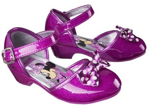 Disney Minnie Mouse Toddler Girl's Ballet Flat - Pink