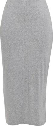 Evans Grey Maxi Skirt