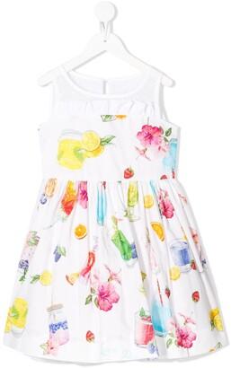 MonnaLisa Sequinned Tulle Dress