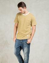 Silas Yellow S/S Border Pocket T-Shirt