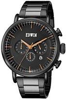 Edwin EW1G013M0074 Men's Element Two tone Bracelet Band Dial Watch