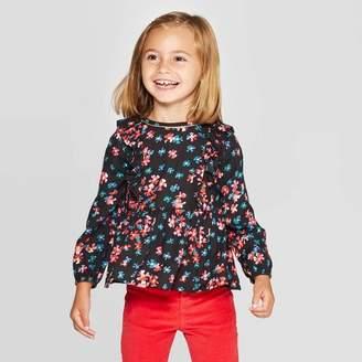 Osh Kosh OshKosh B Oshkosh'B'gosh Toddler Girls' Long Sleeve Floral Blouse