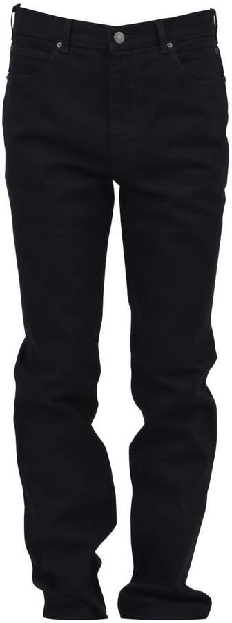 Calvin Klein Black Cotton Denim Jeans