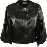 Celine Cropped Leather Jacket
