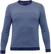 Ted Baker Dynamo Striped Crew Neck Jumper
